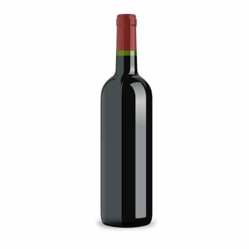 Rode fles wijn